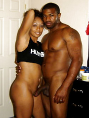 Busty ebony wives self-shot naked photos