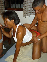 Guy show pictures where he fucked black mature woman