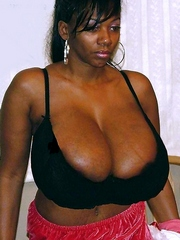 Amateur black housewives with gigantic boobs