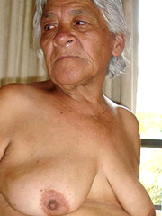 Ethnic Old whores exposes old pussies on private pictures