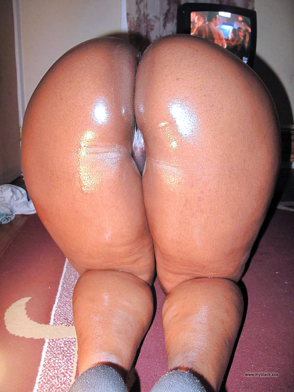Pictures of big black asses