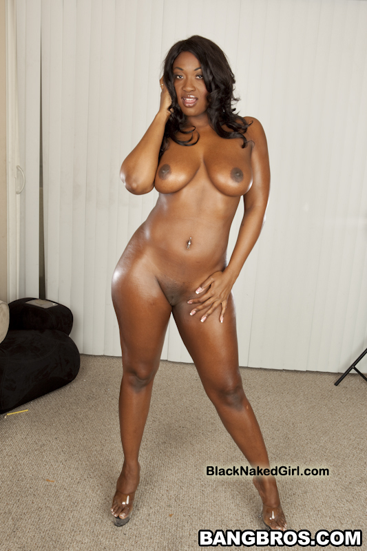 Naked African Milf