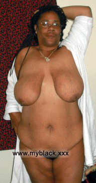 Old black granny nude