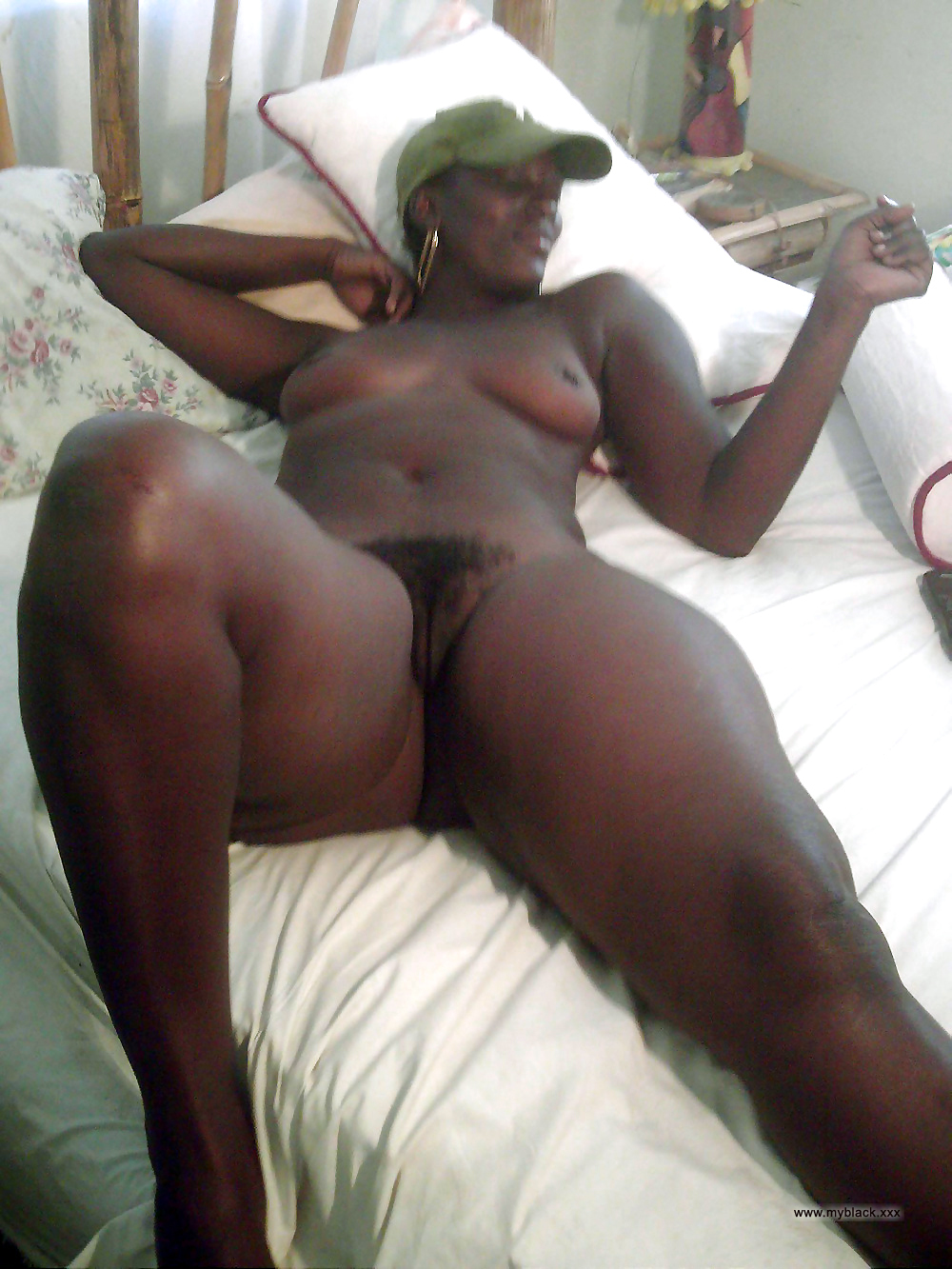 image Sexy ebony fucked wild and cum spitted