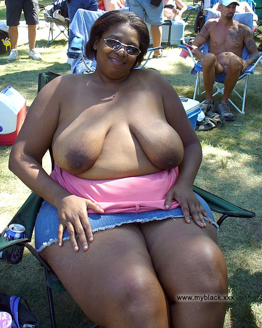 Big black mature thick woman
