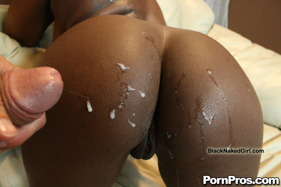 Ebony butthole