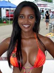 Picture collection of a curvy black amateur GF showing her..